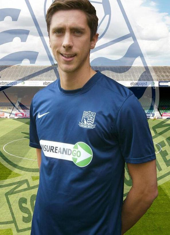 Luke Prosser Southend United Kit 2013