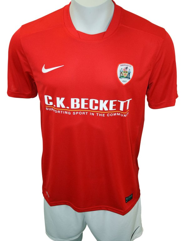 New Barnsley Home Shirt 2013 2014