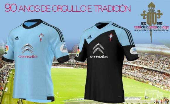 New Celta Vigo Kits 13 14