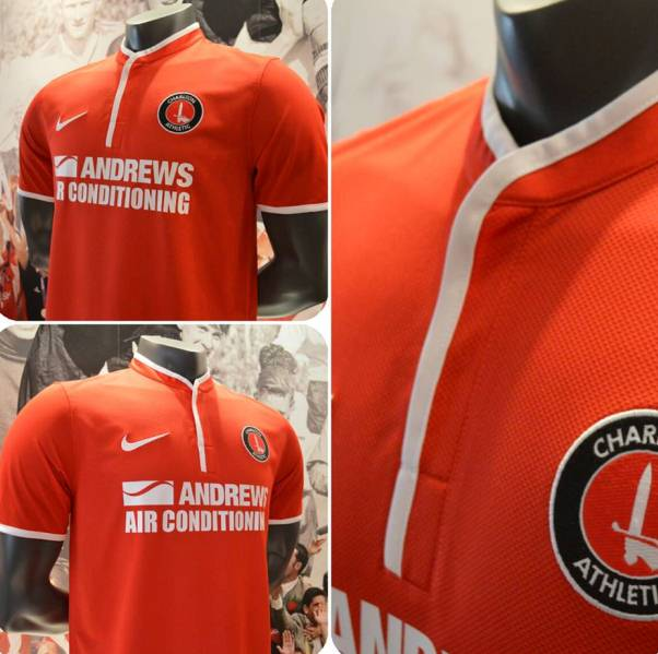 New Charlton Kit 2013 14
