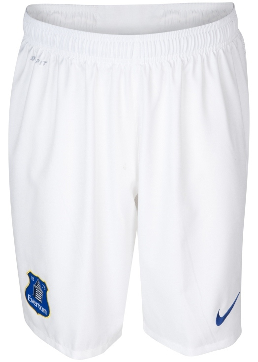 New Everton Kit 2014 Shorts
