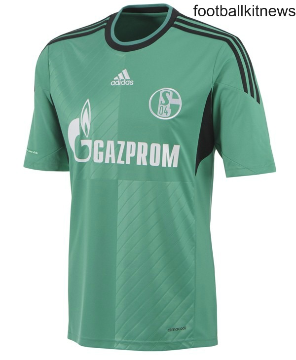 New Green Schalke Kit 13 14