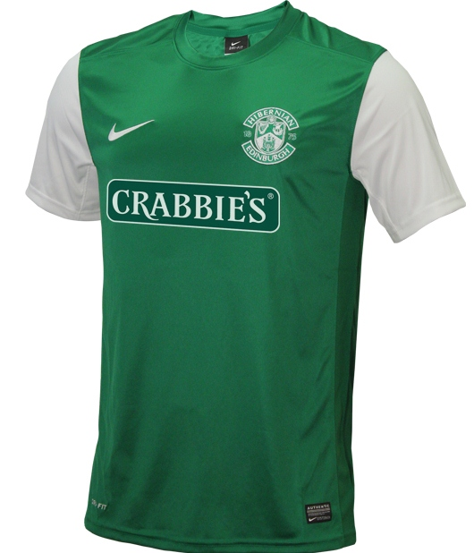 New Hibs Home Kit 2013 14