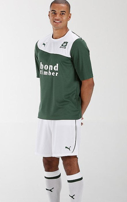 New Plymouth Argyle Home Kit 13 14
