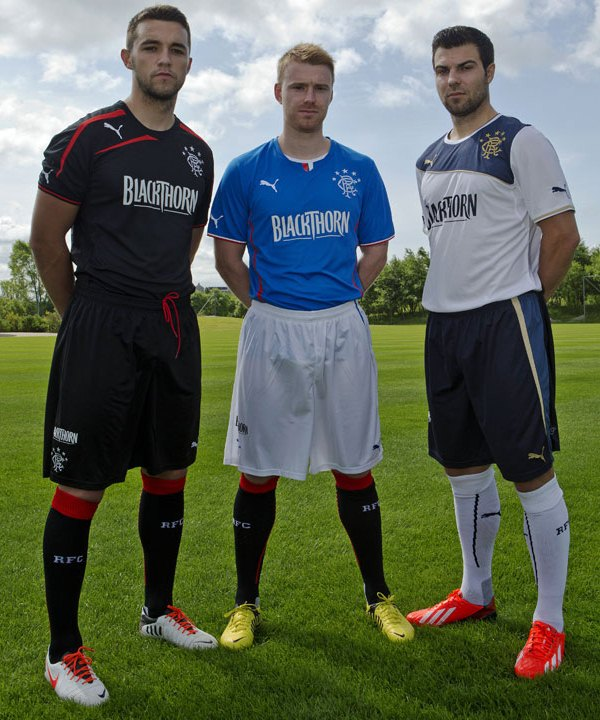 New Rangers Kit 13 14