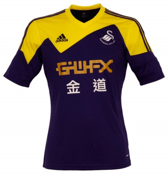 New Swansea Away Kit 13 14