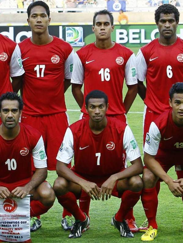 New Tahiti Soccer Jersey