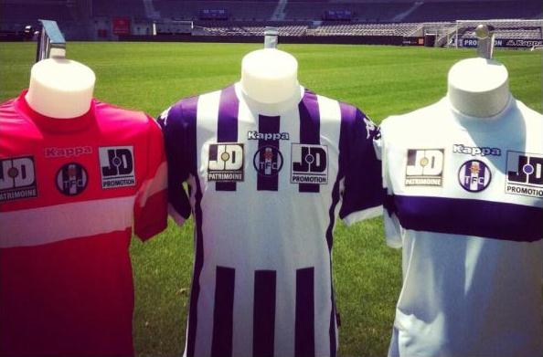 New Toulouse Kits 13 14