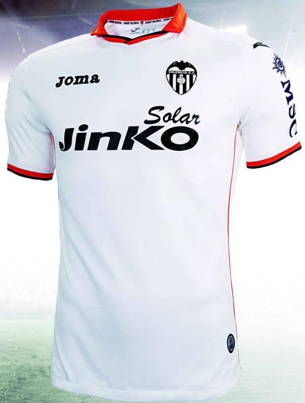 New Valencia Home Shirt 2013 14