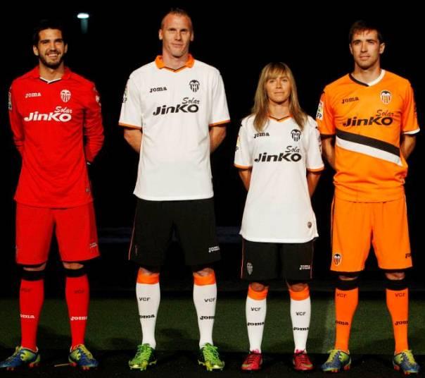 New Valencia Soccer Jersey 2014