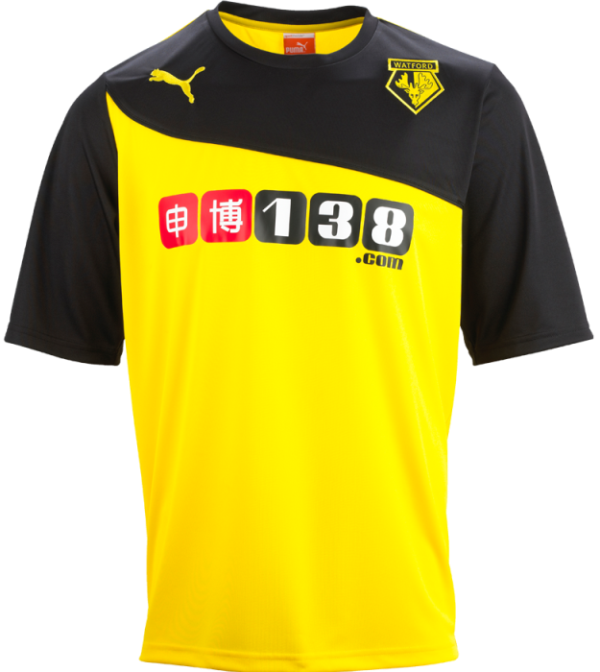 New Watford Football Shirt 2013