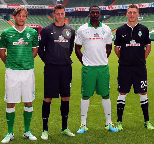 New Werder Bremen Away Kit 2013 2014