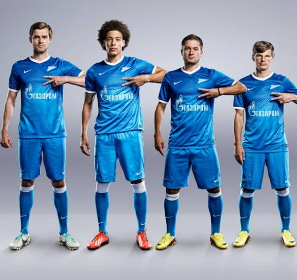 New Zenit Home Shirt 2013 14