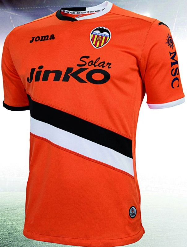 Orange Valencia Jersey 2013