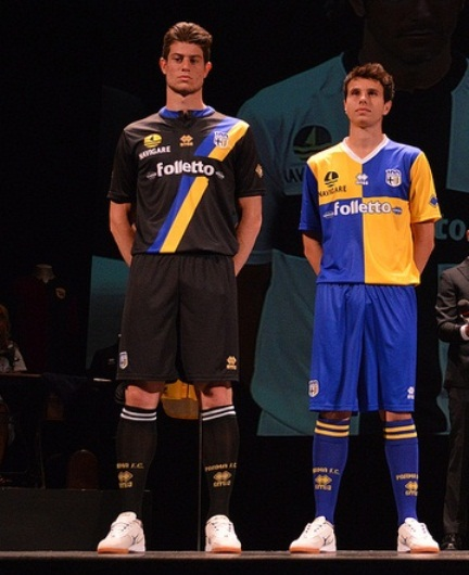 New Parma Kits 2013-2014- Errea Parma FC Home Away Third ...
