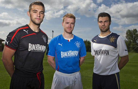 Rangers Puma Strip 2013 14