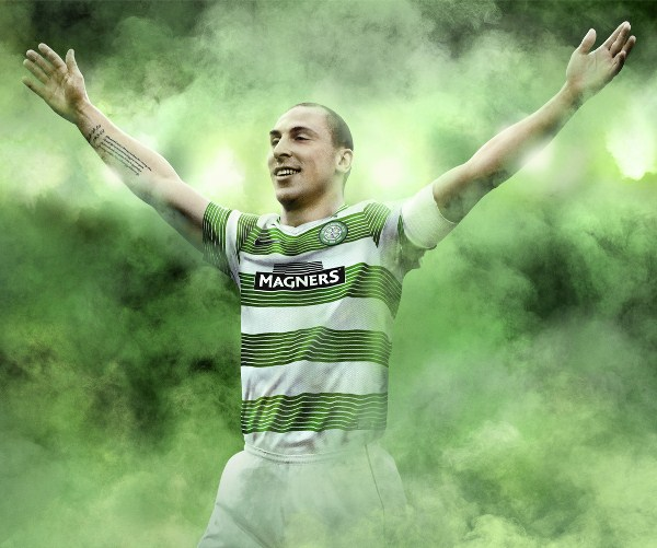 Scott Brown Celtic Shirt 2013