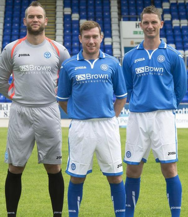St.Johnstone Home Kit 2014