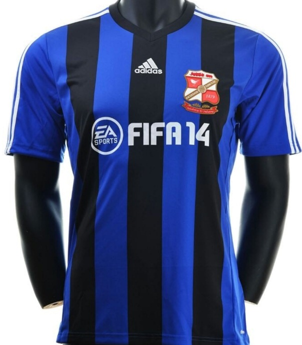 Swindon Town Away Kit 13 14