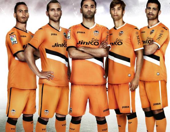 Valencia Away Shirt 2013