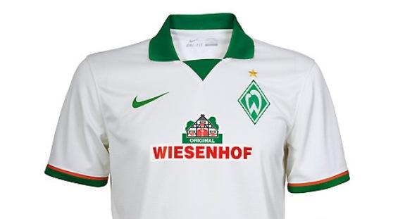 Werder Away Shirt 13 14