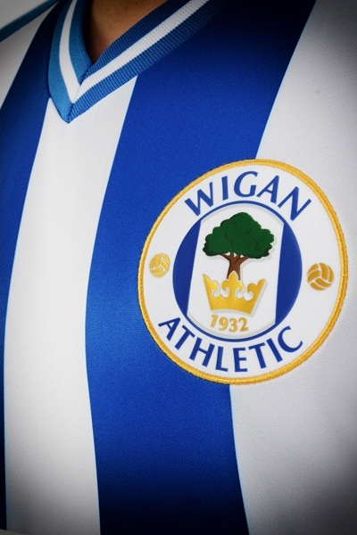 Wigan Athletic New Kit 2013 14