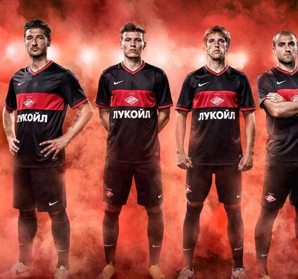 Black Spartak Moscow Shirt 2013 14