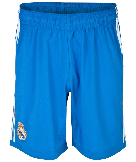 Blue Real Madrid Shorts 2013 14