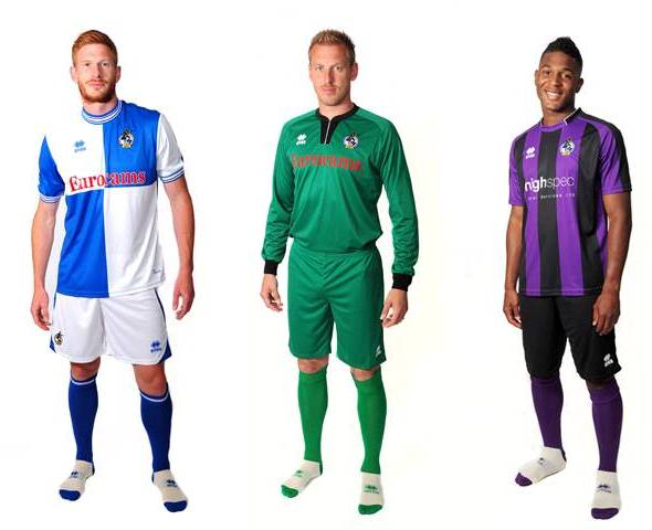Bristol Rovers New Kit 13 14
