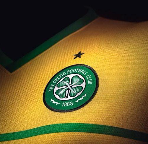 Celtic Away Shirt 2014 Closeup