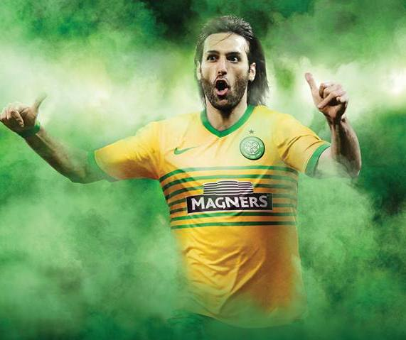 Celtic Away Top 2013 14