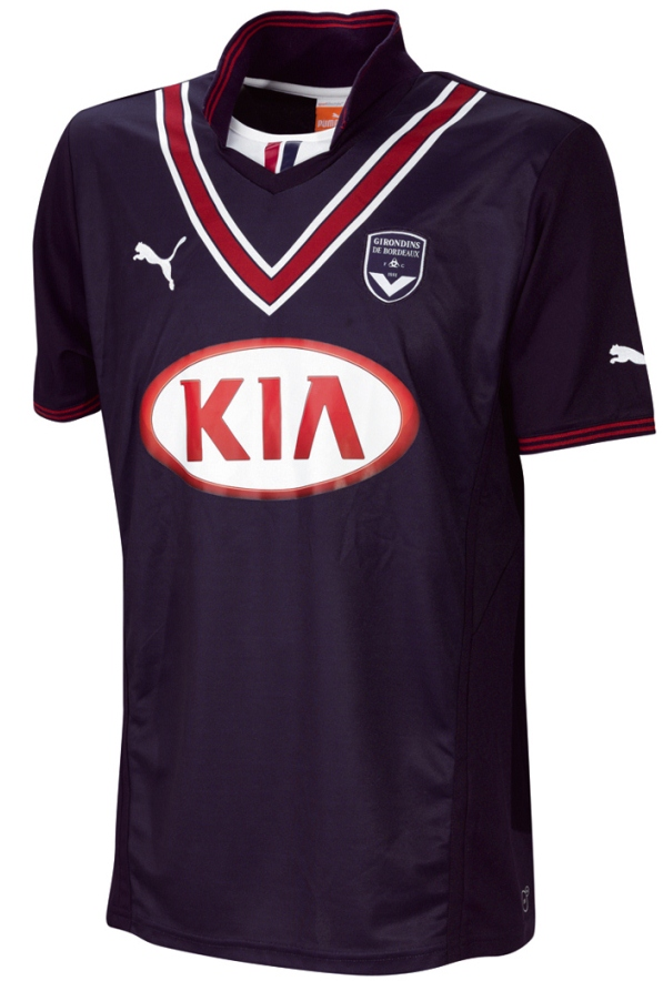 FC Bordeaux Home Kit 13 14