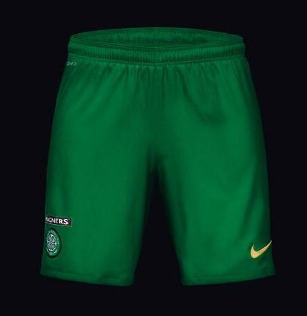 Green Celtic Shorts 2013 14