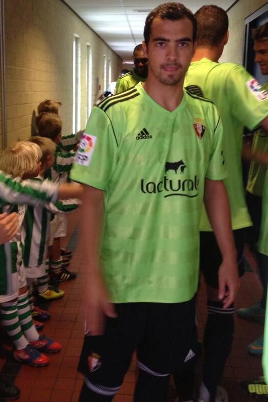 Green Osasuna Away Kit 2013 2014