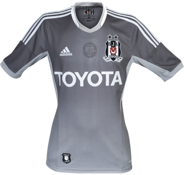 Grey Besiktas Jersey 2013 14
