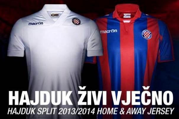 Hajduk Split Shirt 2013 14