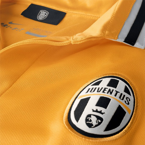 Juve Away Kit Yellow