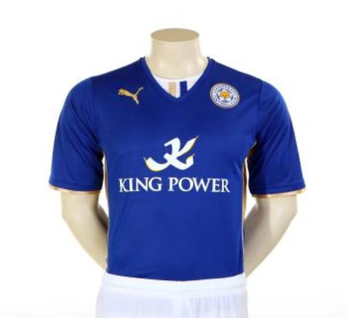 055bdbe7c9b New Leicester City Kit 13-14 Puma LCFC Home Shirt 2013-2014 ...