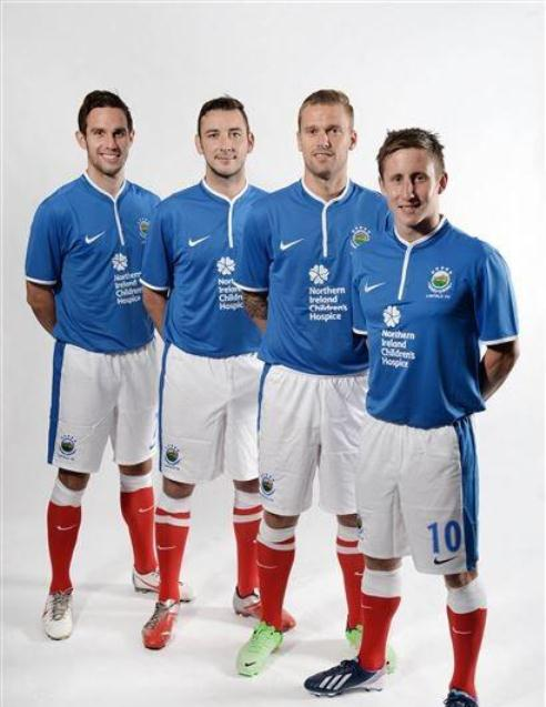Linfield FC Home Jersey 2013 2014