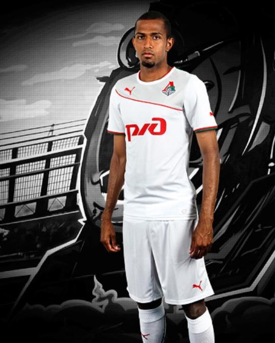 Lokomotiv Away Shirt 2013 14