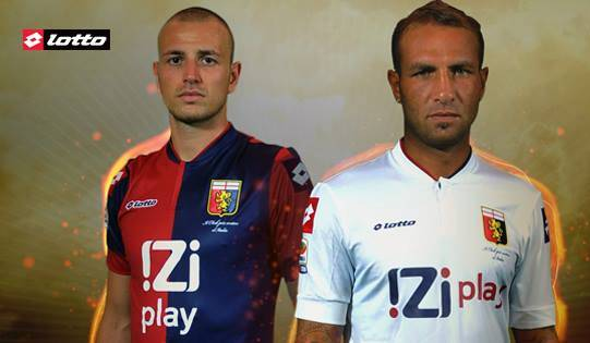 Lotto Genoa Shirt 2013 2014