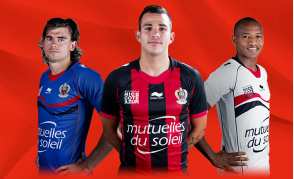 Maillots OGC Nice 2014
