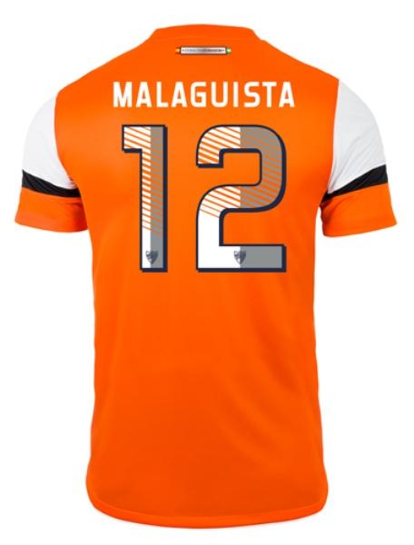 Malaga Third Jersey Back 2014