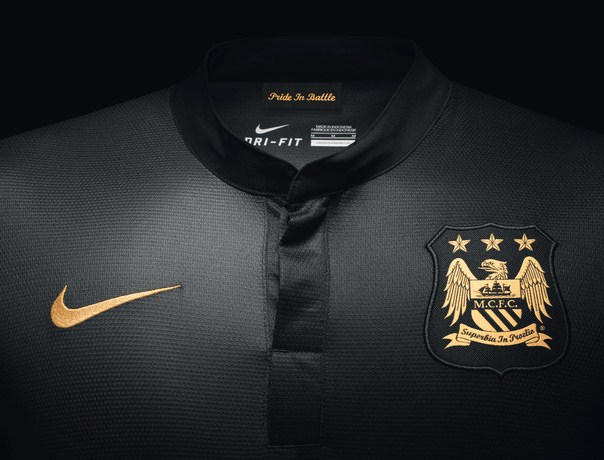 Man City Away Kit Closeup