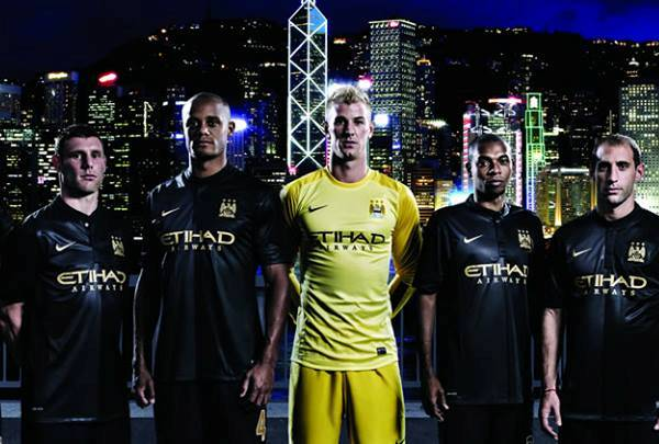 Man City New Away Kit 2014