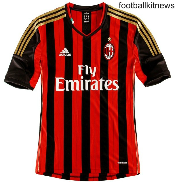 New AC Milan Home Kit 13 14
