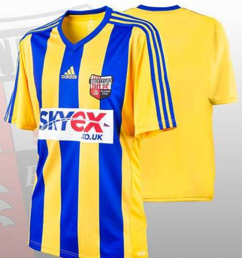 New Brentford Away Kit 13 14