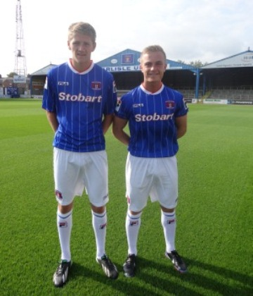 New Carlisle United Kit 2013 14