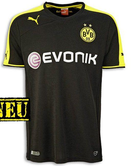 New Dortmund Away Shirt 2013 2014