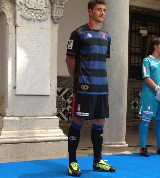 New Granada Soccer Jersey 2013 2014 Third